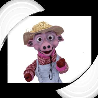 Aaron Baby Pig Puppet