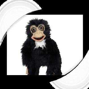 Baby Monkey Puppet