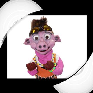 Brad Baby Pig Puppet