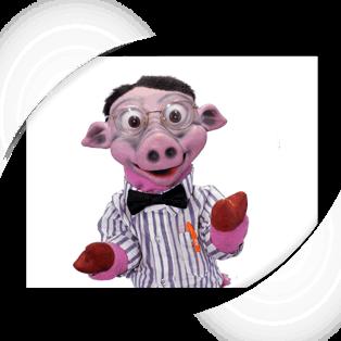 Calvin Baby Pig Puppet