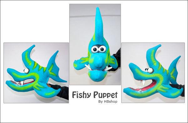 Fishy Custom Puppet