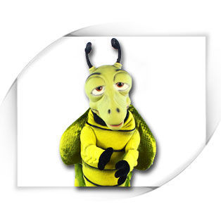 Grasshopper Puppet