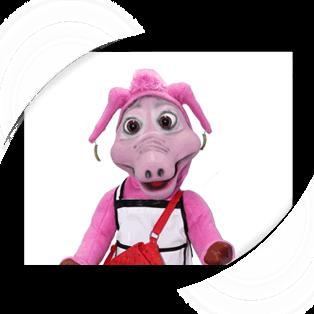 Mother Pig Puppet